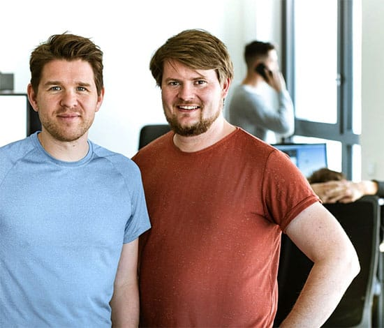 Oliver Moser, Advalyze CEO & Tobias Zumbült, Advalyze CMO